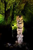 stock photo of carlsbad caverns  - Stalagmites  - JPG