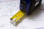 Tape Measure On Floor Plans