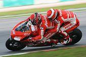 Randy Mamola On Ducati 2 Seater
