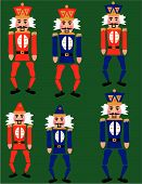 pic of tchaikovsky  - Nutcracker suite by Tchaikovsky toy soldiers clip art illustrations - JPG