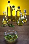 Olive Oil Olive oil bottles