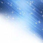 Starry holiday background with copy space