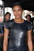 LOS ANGELES - NOV 8:  Naomie Harris at the Hollywood Walk of Fame Star Ceremony for Javier Bardem at