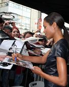 LOS ANGELES - NOV 8:  Naomie Harris at the Hollywood Walk of Fame Star Ceremony for Javier Bardem at El Capitan Theater on November 8, 2012 in Los Angeles, CA
