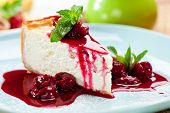 pic of cheesecake  - Dessert  - JPG