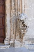 Church of St. Domenico. Manfredonia. Puglia. Italy.
