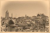 View On Jerusalem Old City