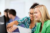 stock photo of informatics  - education - JPG