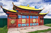 Gate Of Buddhist Temple