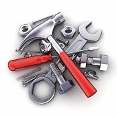 Tools Isolated