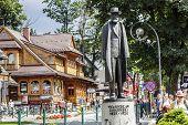 Monument To Earl Wladys?aw Zamoyski, Zakopane