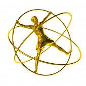 Man In A Simulator - A Gyroscope Gold