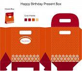 Happy Birthday Present Box
