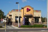 JACKSONVILLE, FL- FEB 9: A Taco Bell fast-food restaurant on February 9, 2013 in Jacksonville, Flori