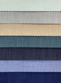 Colorful Fabric Burlap Curtain Swatch