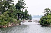 Shortest Bridge Between Two Countries
