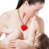 Mother Breast Feeding