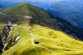 Summer landscape in Transylvania, Romania