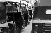 Rickshaw Traffic
