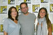 SAN DIEGO, CA - JULY 20: Producers Emily Andras, Jay Firestone and Vanessa Piazza arrive at the 2013