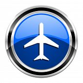 picture of aeroplane symbol  - airport icon  - JPG