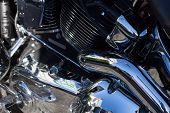 Motorcycle - Extreme Engine Close Up