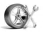Wheel repaire tools