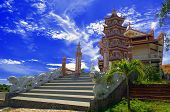Buddhist Temple In Phan Thiet.