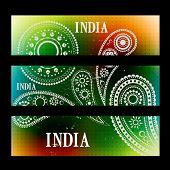 stylish set of indian headers