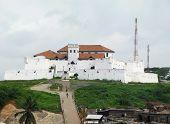 Elmina Fort Near Accra In Ghana