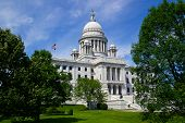 State Capitol At Providence