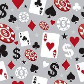 poker casino seamless pattern