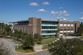 JACKSONVILLE, FLORIDA, USA - NOVEMBER 23, 2013: The Thomas G. Carpenter Library at the University of