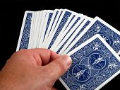 foto of playing card  - Pictures of various scenes depicting playing cards - JPG