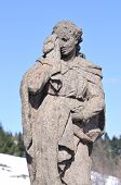 stock photo of magdalene  - Mary Magdalene at Calvary Horna Roven Slovakia - JPG
