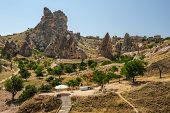 pic of goreme  - Strange looking rocks near Goreme - JPG