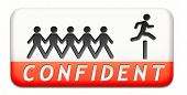 confident belive in yourself having self confidence and trust in God