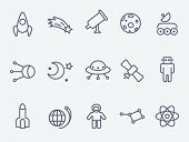 foto of comet  - Space icons - JPG