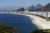 Copacabana beach, Rio de Janeiro, Brazil.