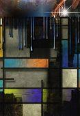 Modern Art Inspired Geometric Design