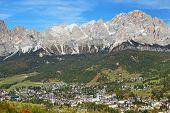Cortina d Ampezzo Resort, Dolomites, Italy