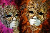 VENICE, ITALY - 8 MAY 2012: Traditional carnival mask from venice on 8th May 2012 in Venice, Italy