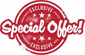 Exclusive Special Offer Sale Stamp