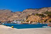 Harbor Of Chora Sfakion