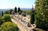The Cemetery In The Village Of Saint-paul France