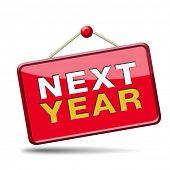 next year 2014 2015 new start
