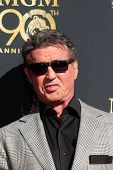LOS ANGELES - JAN 22:  Sylvester Stallone at the MGM 90th Anniversary Celebration Kick-Off Event at