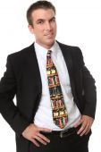 Business Man Lawyer With Legal Tie