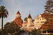 Historic resort on Coronado island outside of San Diego is the areas most famous landmark