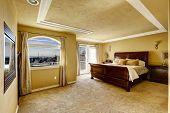 Bedroom Interior In Luxury House